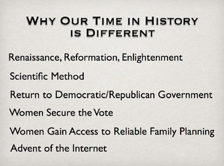 Why Our Time Is Different